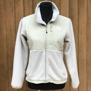 North Face Denali Fleece Jacket Ivory Women's XS